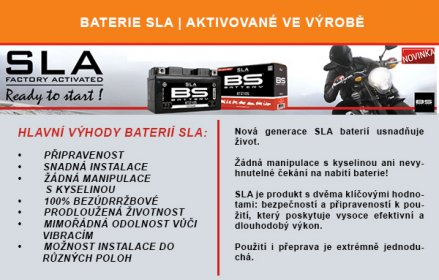Baterie BS SLA