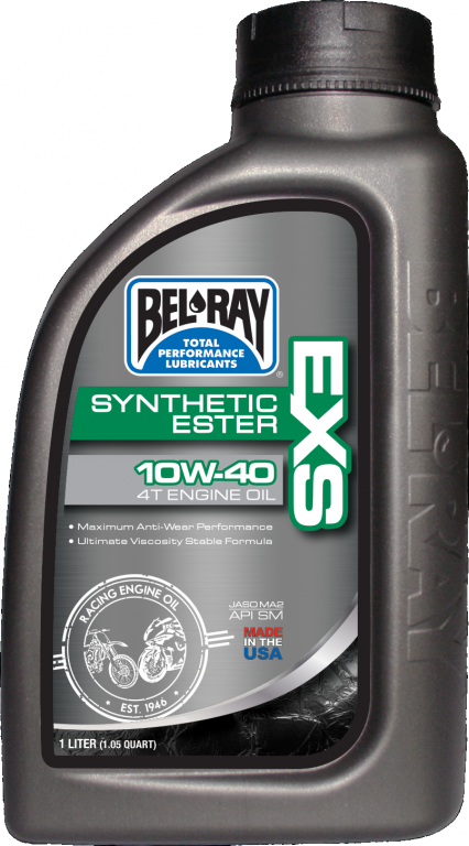 Motorový olej Bel-Ray EXS FULL SYNTHETIC ESTER 4T 10W-40 1 l