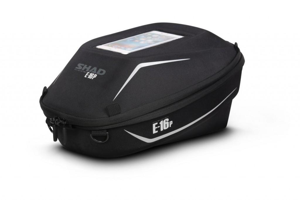 Taška Na Nádrž E16p S Pin Systémem Rozšiřitelná Motocykly Honda